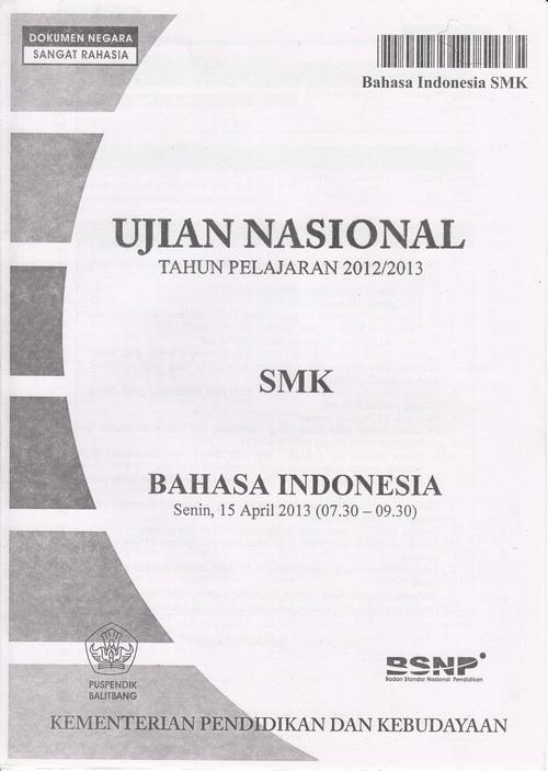 Kumpulan Soal Ujian Nasional Smk Akuntansi Soal Ujian Nasional Kumpulan Referensi Gratis Kuregis