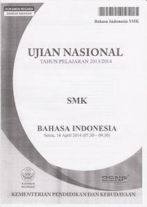 Soal Ujian Nasional SMK 2013/2014   Kumpulan Referensi ...