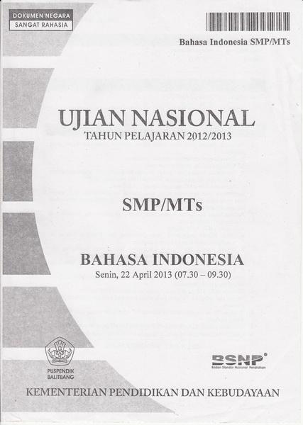 Soal Bahasa Indonesia Menentukan Tanggapan Logis